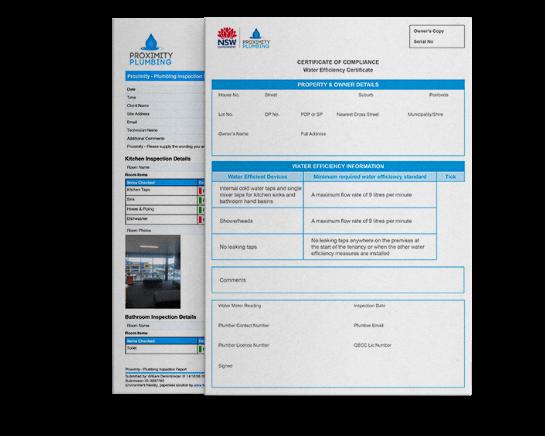 water efficiency Report