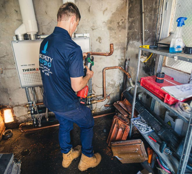 Hot Water specialist image