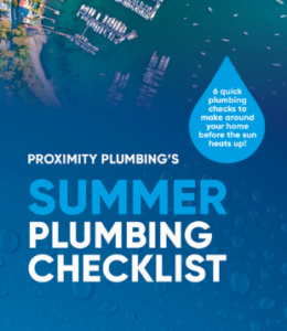 Summer Plumbing Checklist